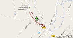 Mondoubleau_route de Souday