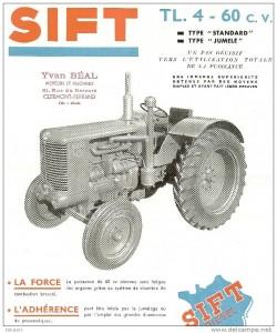 Tracteur SIFT_affiche (années 1950)
